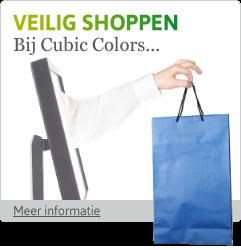 Veilig shoppen bij Cubic Colors