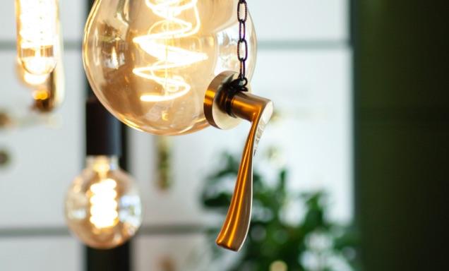 lamp deurbeslag cafe