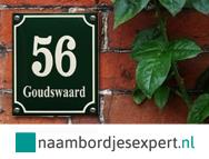 Naambord Voordeur Landelijk : Naambordjes voordeur ontwerpen naambord steigerhout zelf maken