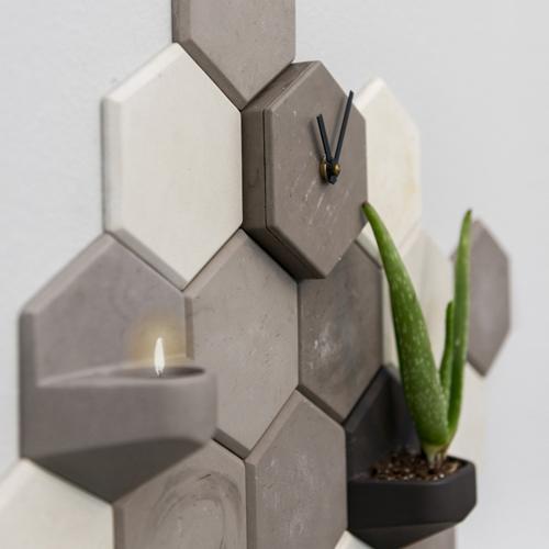 Valence wandsysteem betonlook