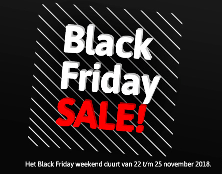 Black Friday weekend bij Cubic Colors!